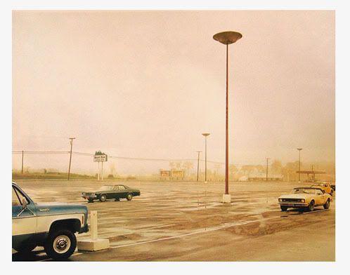 parking lot - photo stephen shore