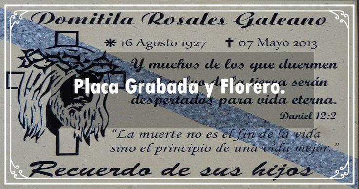Placa Grabada y Florero texcoco whats: 5575430104   https://www.webselitemx.com/funerales-y-ata%C3%BAdes-texcoco/