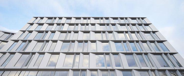 Microsoft headquarters by Henning Larsen Architects in Lyngby, Denmark