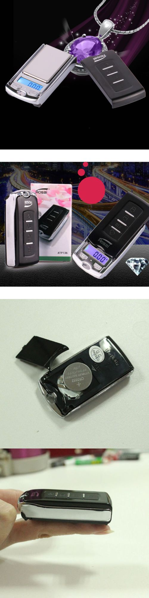 Scales 34088: Lot5 Car Key Mini Digital Pocket Scale Jewelry Weight Electronic Scale 100G 0.01 -> BUY IT NOW ONLY: $31.95 on eBay!