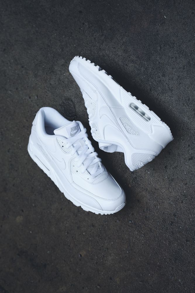 All-white Nike Air Max I love me a good all-white sneaker! Find this Pin  and more on men shoes ...