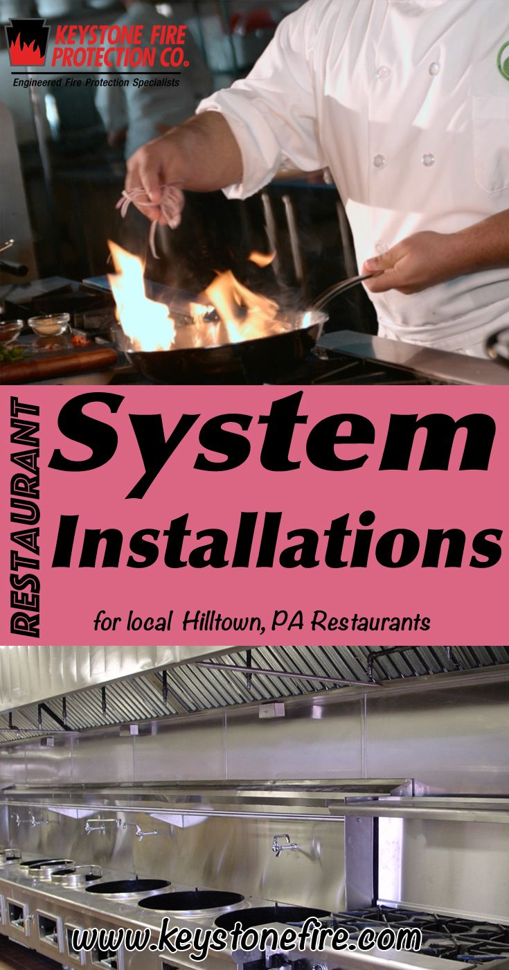 Restaurant System Recharging Experts for Hilltown, PA (215) 641-0100 Call Keystone Fire Protection.. We are the complete source for Restaurant System Service for Local Pennsylvania Restaurants. We keep local restaurants Fire Code Compliant.