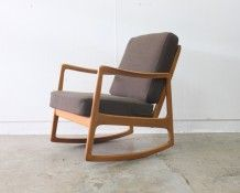 Danish 1960s rocking chair - The Vintage Shop