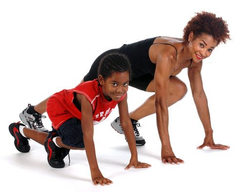 Busy parents have little time to devote to their own workouts, not to mention those of their children. So if you want to stay in shape and spend more quality time with your children, just create fun and healthy activities for your kids that help both of you get fit. Fitness trainer Carla Fields and her 8-year-old son, William, demonstrate.