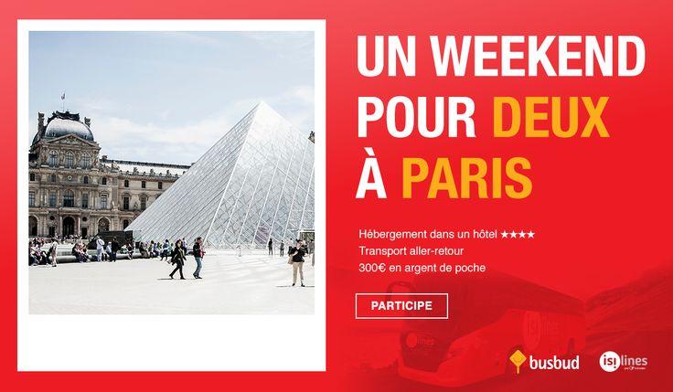Gagnez un séjour gastronomique à Paris. Vivez l'automne parisien avec une tournée dégustation avec Busbud et isilines.