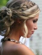 Braid Updo Hair Styles for Wedding, Prom