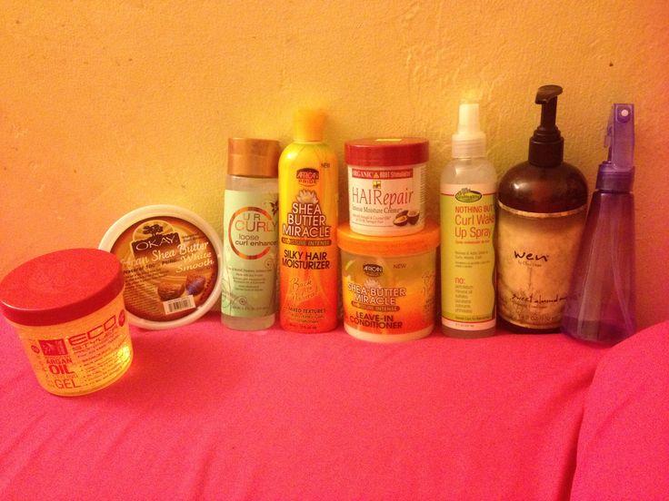 My moisture slash 3/b 3/c hair care products