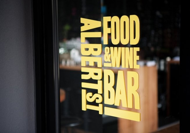 Albert St Food & Wine  382 Sydney Rd   Brunswick  www.albertst.com.au  (03) 8354 6600  Yum! My Valentines day treat. Fantastic service, great broad menu, and the most amazing 'deconstructed' Tiramisu I've ever had...