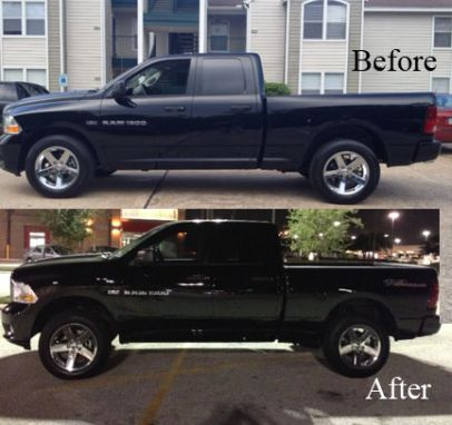 2009 dodge ram 1500 4x4 with 2 1/2 '' front leveling kit , | RCX leveling kit installed! - DODGE RAM FORUM - Dodge Truck Forums