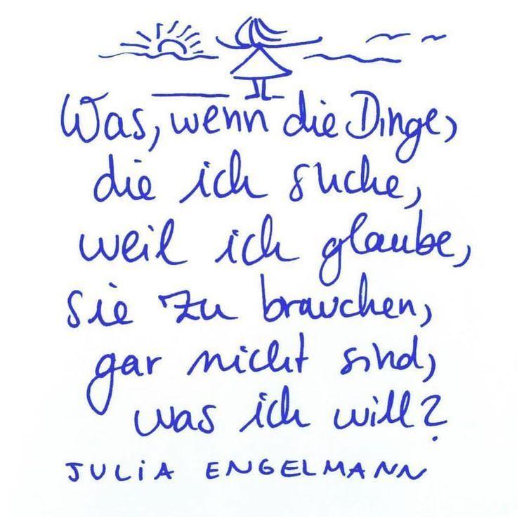 Aus Meinem Neuen Buch Horbuch Keine Ahnung Ob Das Liebe Ist Ube Ahnung Aus Buchhorbuch D Coole Spruche Weisheiten Spruche Julia Engelmann Zitate