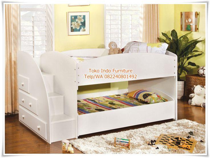 Jual Tempat Tidur Anak Minimalis Tingkat Murah Lengkap - http://www.tokoindofurniture.com/tempat-tidur-anak-tingkat-murah.html