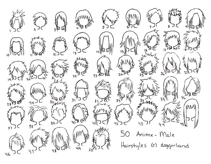 Best 25 anime hairstyles male ideas on pinterest anime hair 50 anime male hairstyles ii by orangenuke on deviantart urmus Choice Image