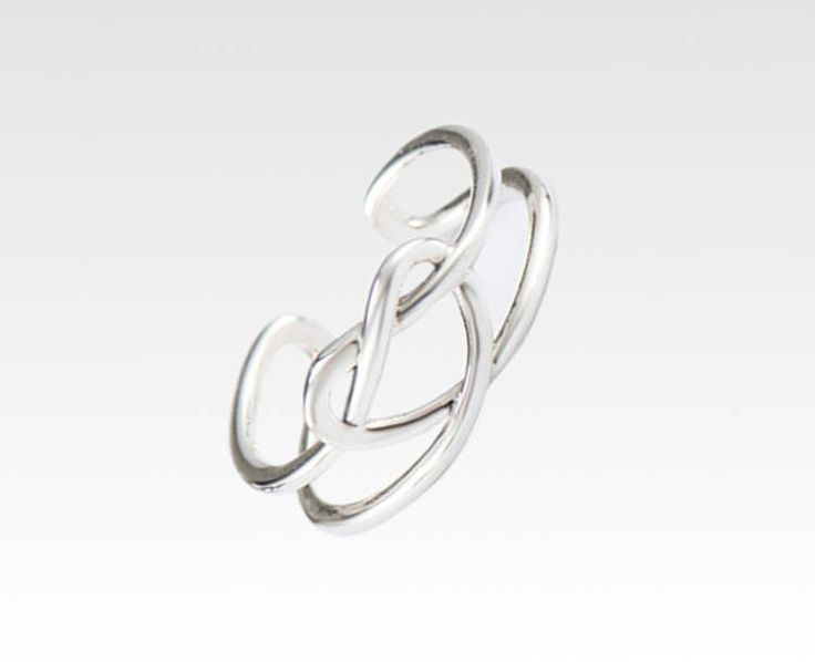 Excited to share the latest addition to our #etsy store: Love heart thumb ring Bohemian sterling silver rings women Boho hippie gypsy jewelry Infinity open adjustable Simple minimalist Gift for her