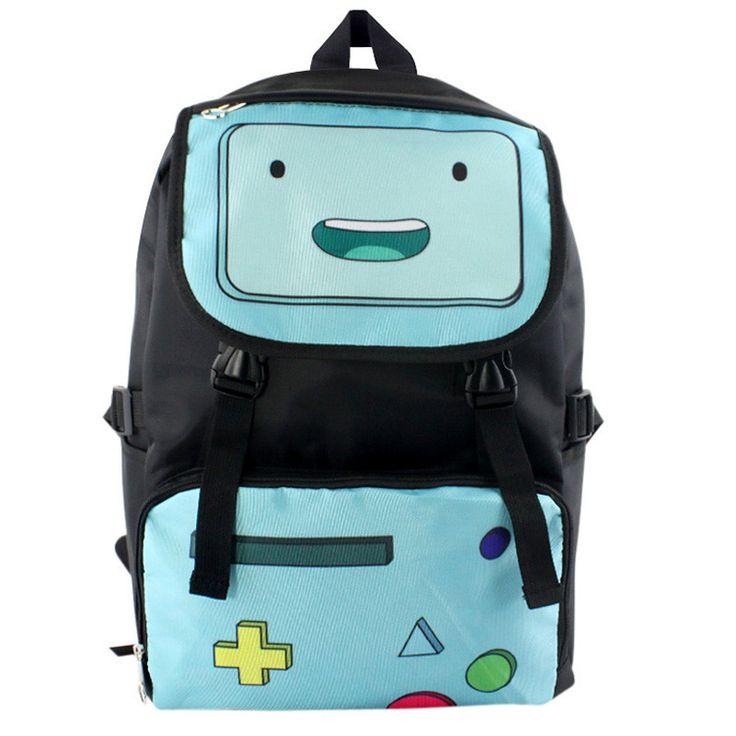 Adventure Time Nylon Waterproof Laptop Shoulder / Schoolbag Backpack