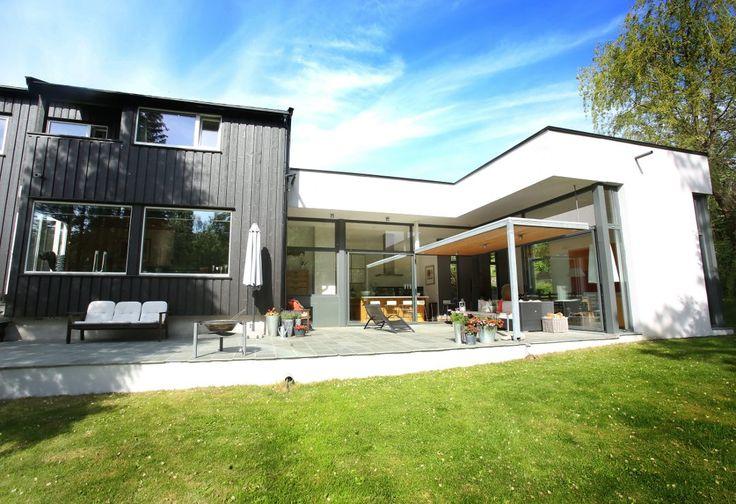 Bilderesultat for fasade endring 50 talls hus