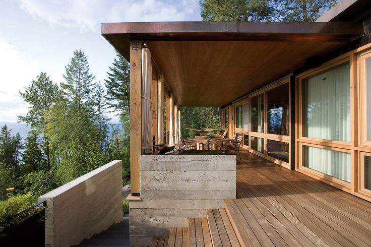 Wood + Stone magic at Stone Creek Camp in Montana by ANDERSSON-WISE ARCHITECTS