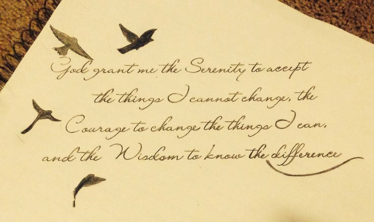 #tattoo #serenity #prayer turned out great ! I'm very proud of my accomplishment