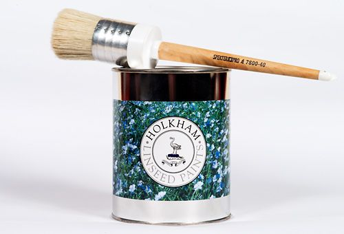 Holkham Linseed Paint Brushes