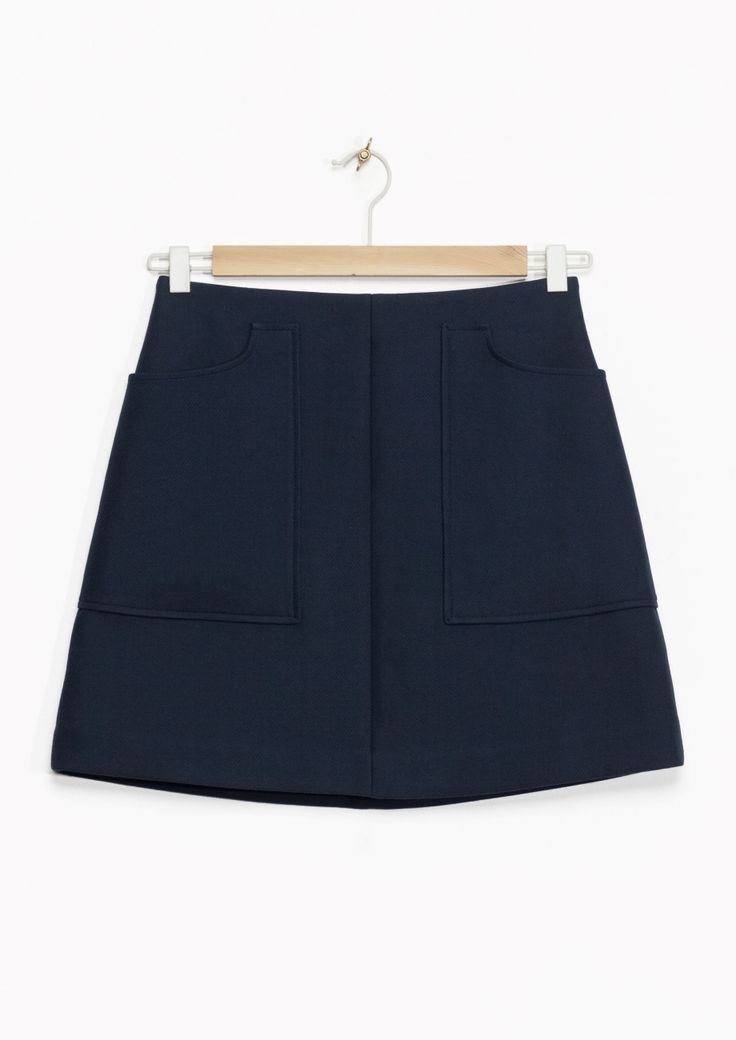 & Other Stories | A-Line Mini Skirt