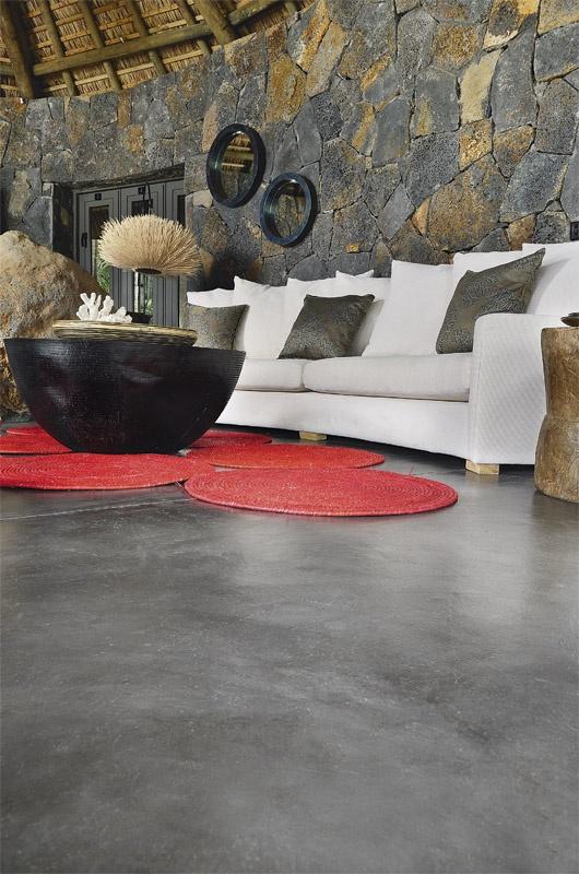 Cement Floor   CEMTECH Used Béton Ciré   Colour Hardener Slate. Yes I Do  Love The Color Of This Floor.