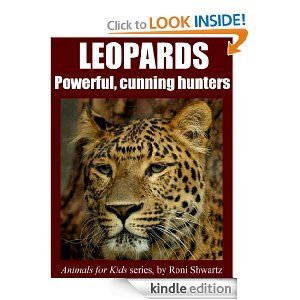 Free today 11.4.2013 Children's book: Leopard facts and pictures (Animals for Kids) eBook: Roni Shwartz: Kindle Store