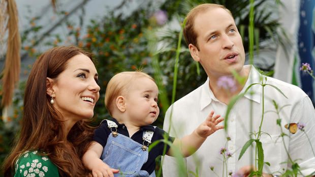 Royals release new Prince George photos for first birthday!