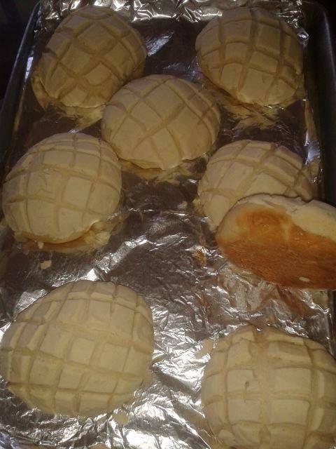 Conchas de dulce caseras por Edna Verónica Caballero