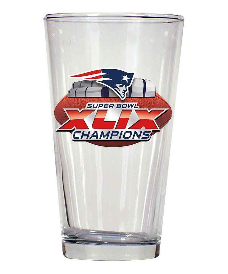 Hunter New England Patriots Super Bowl Champs Mixing Glass | zulily