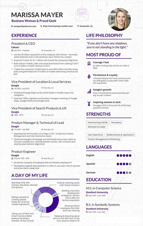 Best Cv Infographic Images On   Resume Design Resume