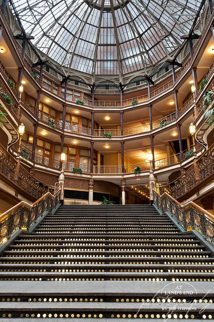 Make sure to check out the arcade in downtown Cleveland. Beautiful architecture.