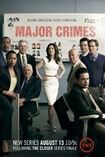 Major Crimes - Great writing, acting! You have to watch attentively, there is always something going on in the background between the characters