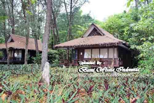 Penginapan / Cottage Pulau Pelangi Kepulauan Seribu