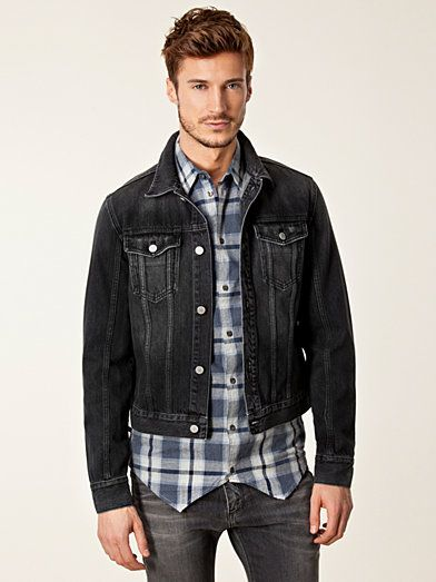 Jeans Jacket 5 - Blk Dnm - Svart - Jackor - Kläder - Man - NlyMan.com