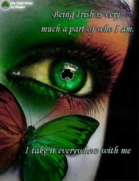 Irish Quotes, Irish Sayings, Irish Jokes & More..., irish shamrock eye