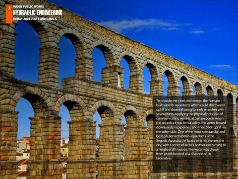 an introduction to the history of aqueducts in rome Roman aqueducts the great and highly advanced roman waterway system known as the aqueducts, are among the greatest achievements in the ancient world the running water, indoor plumbing and sewer system carrying away disease from the population within the empire wasn't surpassed in capability until very modern times.