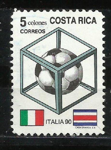COSTA RICA 1990 FIFA SOCCER WORLD CUP SCOTT #424 USED  | eBay