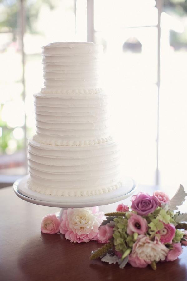 Wedding Cake by Cake Sensations; Photography by CarolineJoy.com