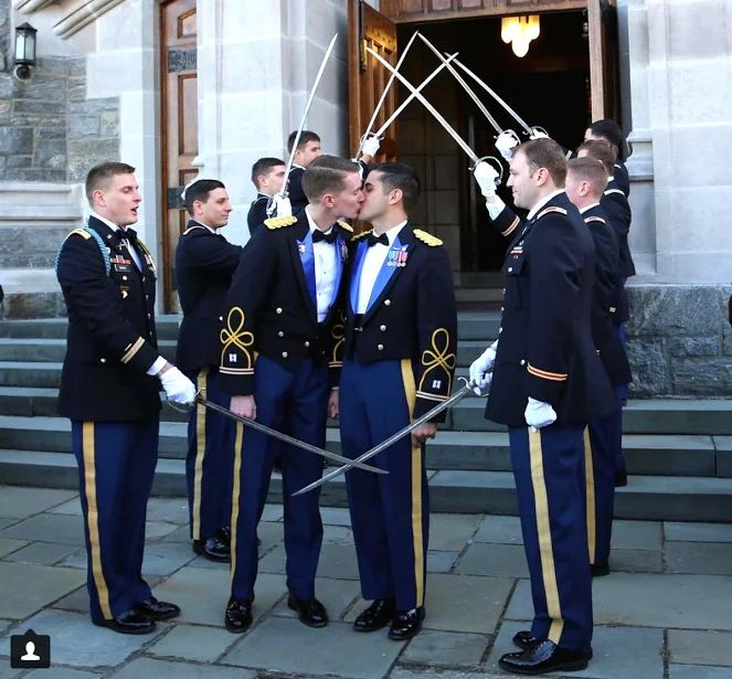 Army Captains are First Active-Duty Gay Couple to Marry at West Point - Towleroad