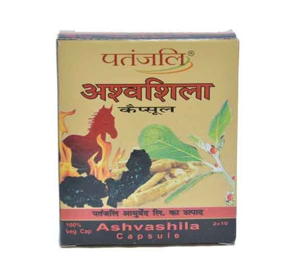 It is very important medicine for tiredness, tension, sexual weakness, asthma, allergy, joint pains, diabetes and related weaknesses, sperm related problems, urine troubles and other physical deficiencies. ASHVASHILA CAPSULE 5gm PriceRs.70