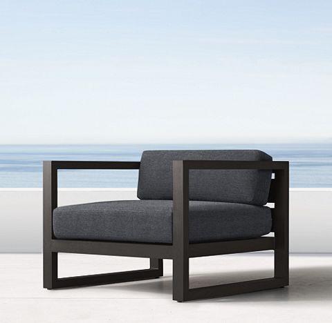 Aegean Aluminum Iron (Outdoor Furniture CG) | RH