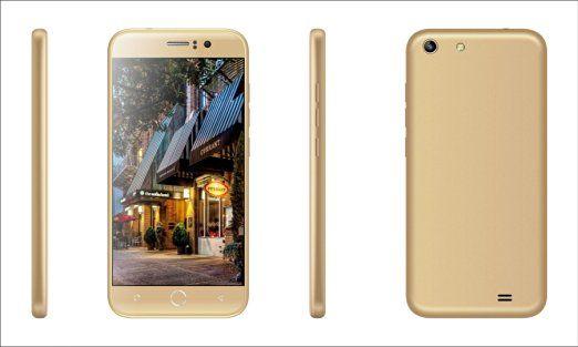 RAINBOW | Smartphone S2 Oro - 1.3GHz Quad core - schermo multi touch 5.0 pollici HD IPS 1280 x 720 pixel - Android 4.4.2 - RAM 1GB + 8GB ROM - fotocamera 8MP posteriore 5MP frontale - Dual Sim - MTK6582