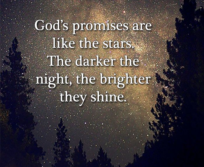Image result for God's promises like the stars images