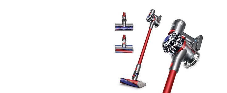 Buy the Dyson V6 Fluffy Pro Animal Fuchsia cordless vacuum cleaner | Dyson Store