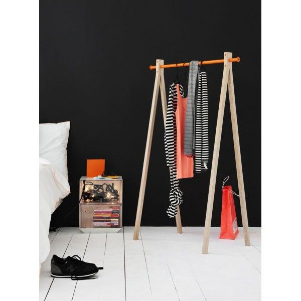 Portant Bois Dress Up Avec Barre Aluminium Color Nomess Chambre Pinterest Costume