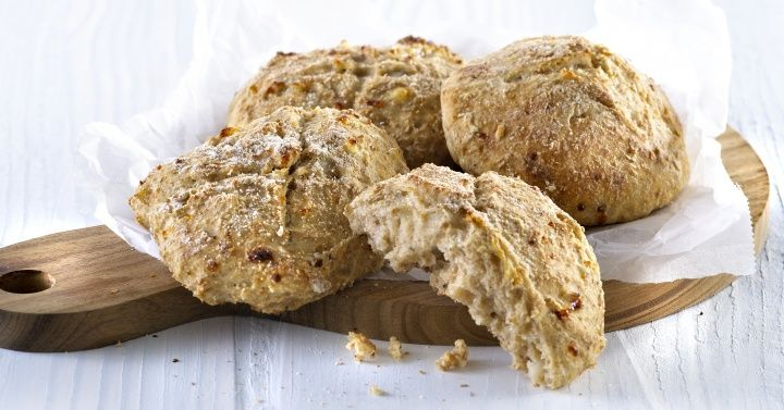 Scones med cottage cheese
