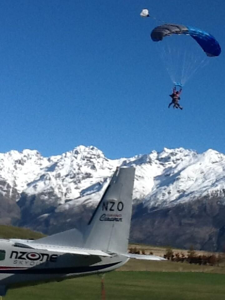 Twitter / NzoneSkydive: You won't get scenery like Queenstown at many skydive dropzones - come see our amazing views.