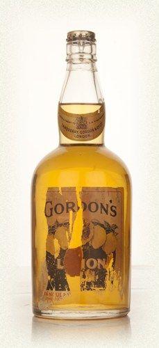 Gordon's Lemon Gin - 1936-52. Oodles more Antique Spirits here: http://www.masterofmalt.com/antique-spirits/