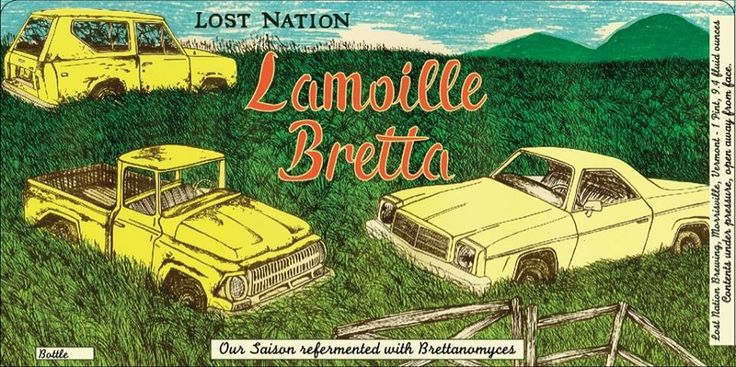 What's this? Another bottle from Lost Nation? The Vermont-based brewery is ready to rock with their next bottled beer, Lamoille Bretta on Friday, September 12 at 11:30am. This saison refermented with Brettanomyces is their own take on the classic farmhouse style ale, finishing at 5.9% ABV.