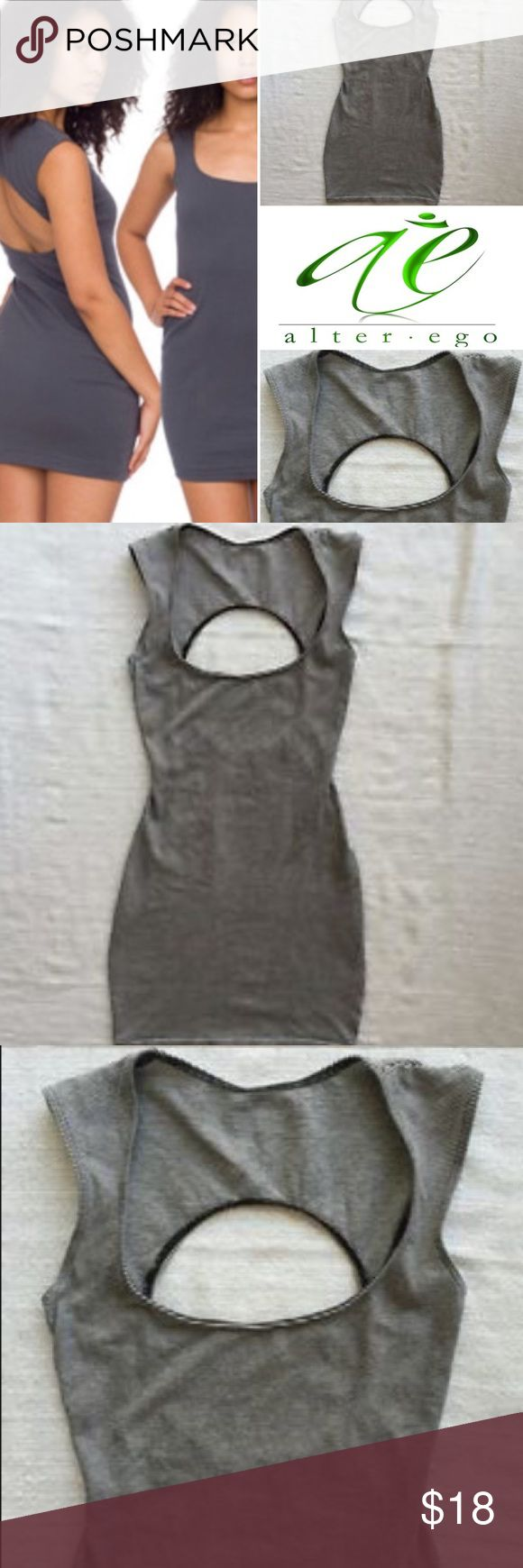 American Apparel open back cutout mini dress NWOT American Apparel NWOT mini dress. Clubwear, date night, or girls night out mini dress. Figure flattering with sexy openings. I pictured wearing it as a tunic with leggings for a more demure feel. Definitely a must have statement for your collection. Buy...take a flic...tag me on Facebook @paulafmoreno or Instagram @HarlemQT so I can see how you rock it! Bundle 📦for 10% 💵off total 💰purchase🛍!! American Apparel Dresses Mini