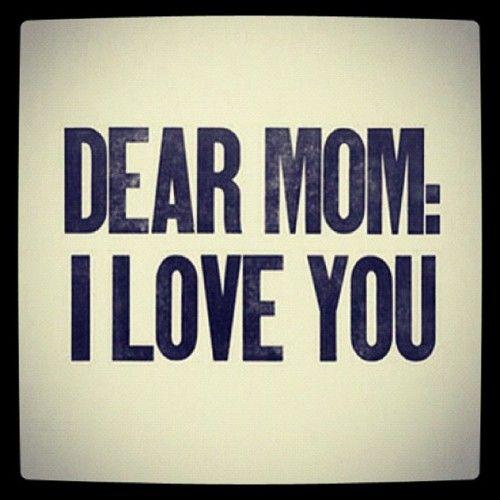 I really miss my MOM....love You Mom♥